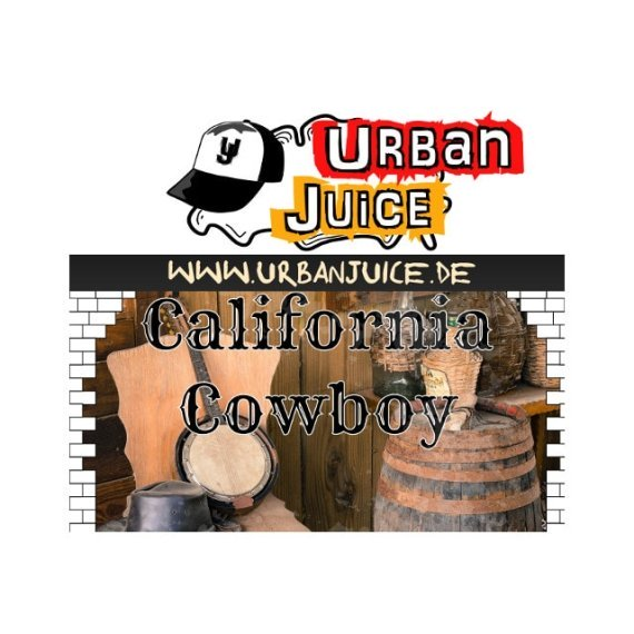 California Cowboy - Urban Juice Liquid