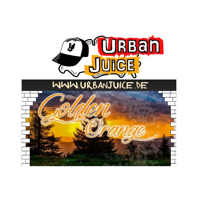 Golden Orange - Urban Juice Liquid