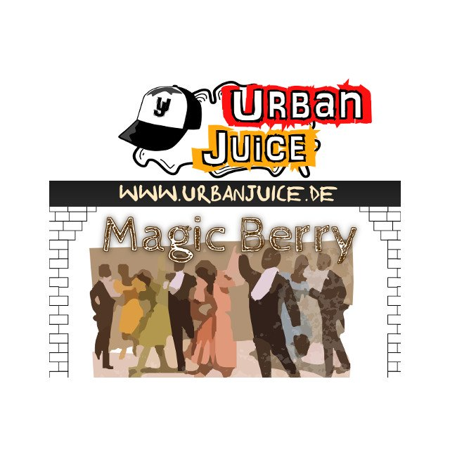 Magic Berry - Urban Juice Liquid