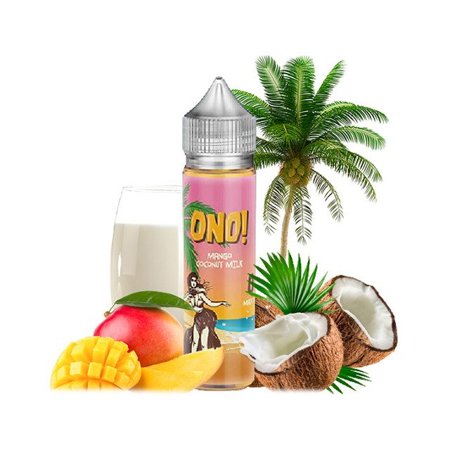 Mango Coconut Milk - ONO! Liquid