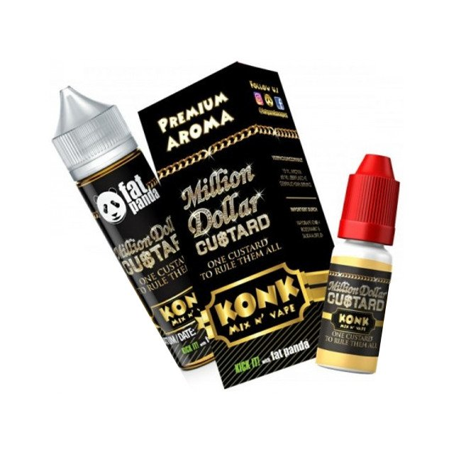 Million Dollar Custard - Konk Mix n´ Vape Aroma Fat Panda