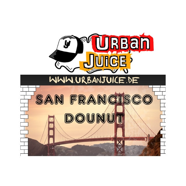 San Francisco Donut - Urban Juice Liquid