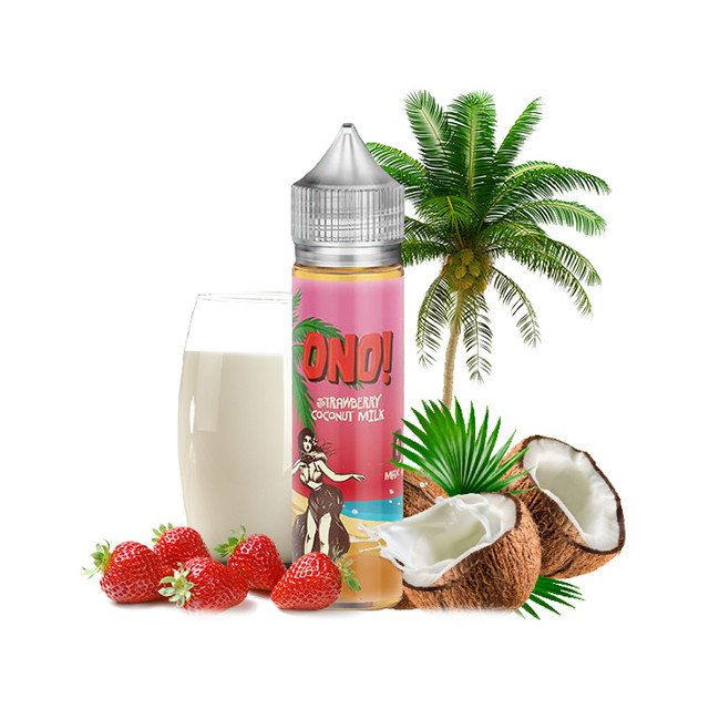 Strawberry Coconut Milk - ONO! Liquid