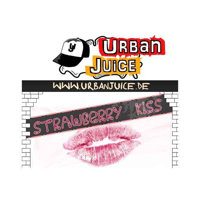 Strawberry Kiss - Urban Juice Liquid