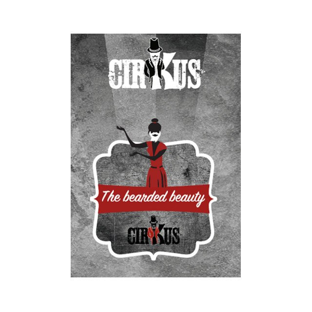 The Bearded Beauty - Authentic Cirkus Liquid