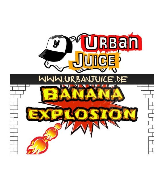 Banana Explosion - Urban Juice Liquid
