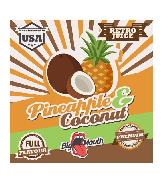 Pineapple and Coconut - Big Mouth Aroma