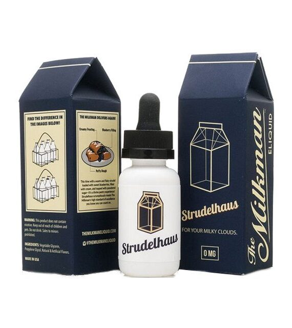 Strudelhaus - The Milkman Liquid