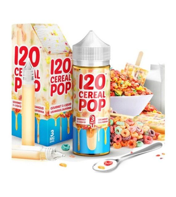 120 Cereal Pop - Mad Hatter Juice Liquid
