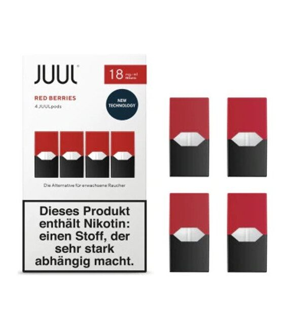 Red Berries – Juul Pod