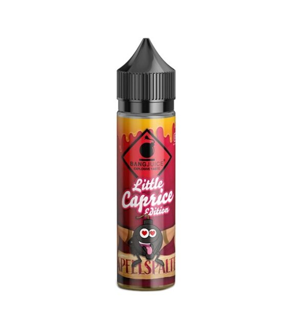Apfelspalte Little Caprice Edition Bang Juice Aroma