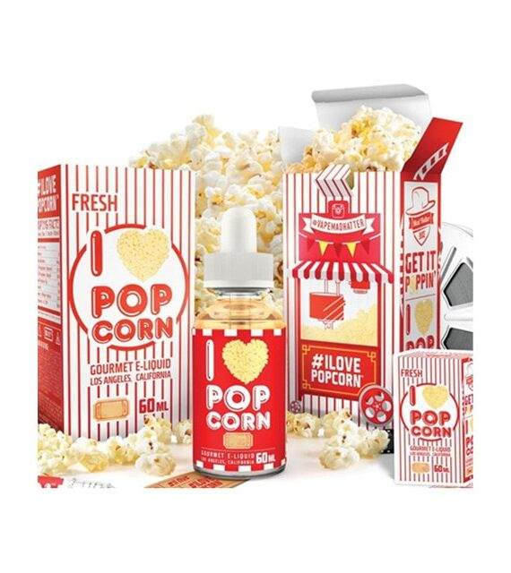 I Love Popcorn - Mad Hatter Juice Liquid