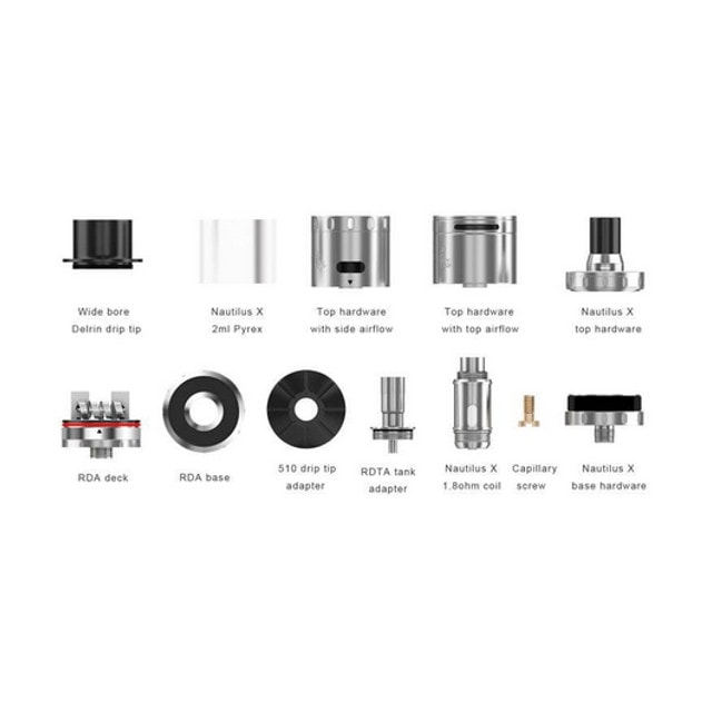 Aspire Quad Flex Survival Kit